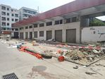 福永街道:依法拆除工地临时板房