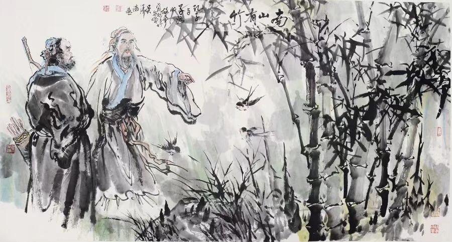 这位汕头人用笔墨作了一次穿越时空的旅行,将孔子的一生次第展现……