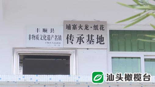 """探访埔寨纸花!看丰顺县埔寨镇老艺人妙手""""生花"""""""