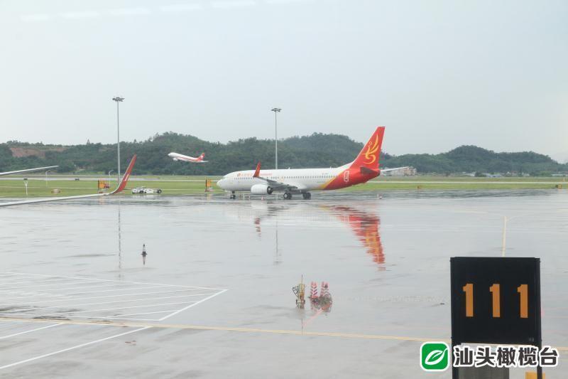 潮汕机场初迎暑运高峰 加密多条热点航线