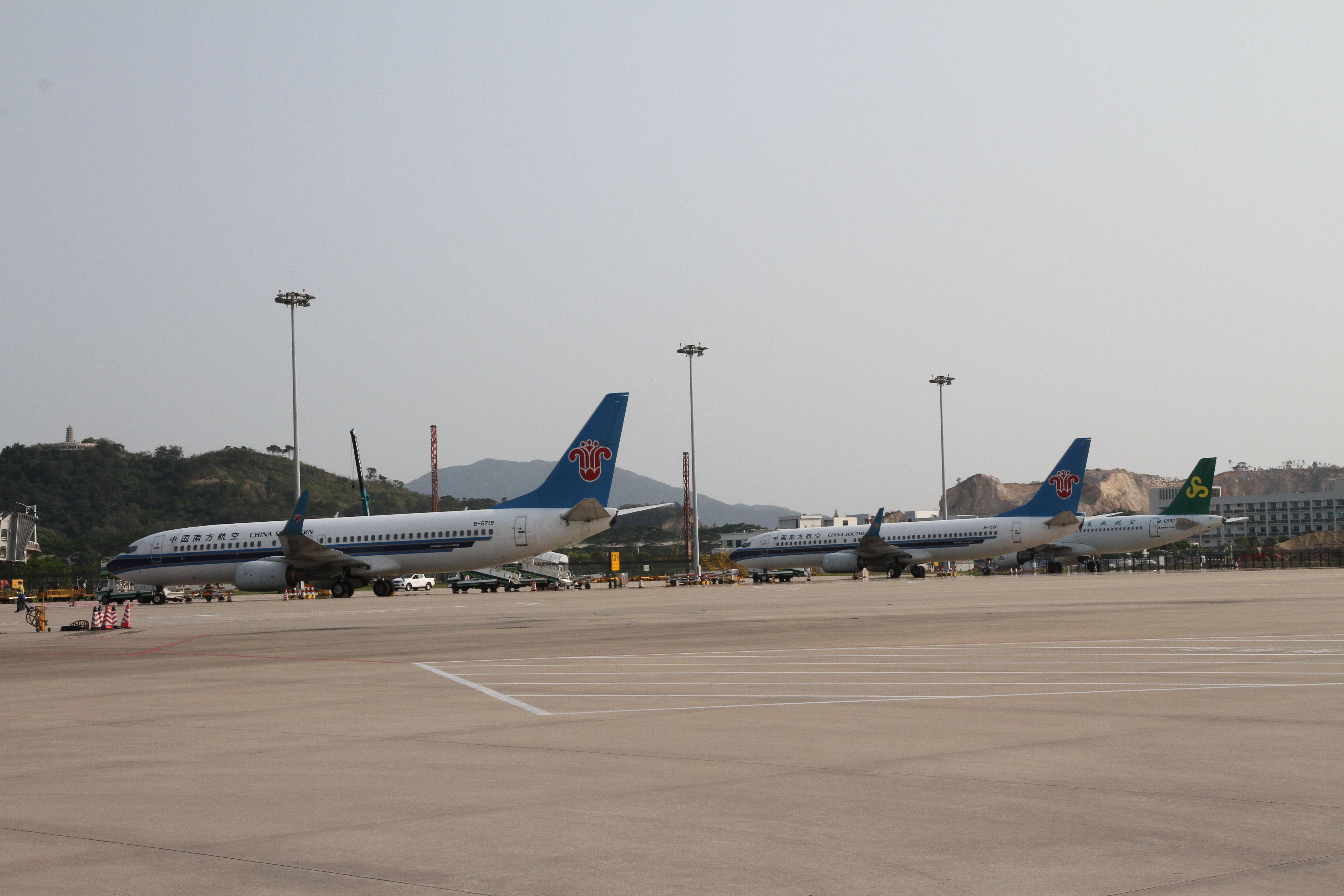 昨天起 潮汕国际机场暂停所有国际地区航班