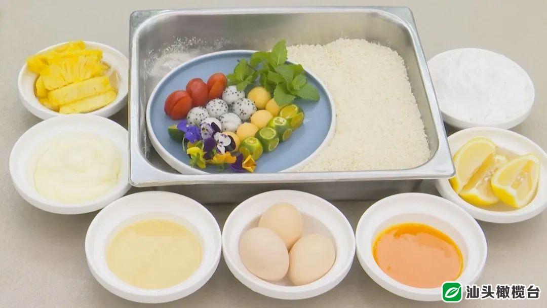 《美食潮》大厨小吃之九——夏日菠萝盒、碧绿山药卷