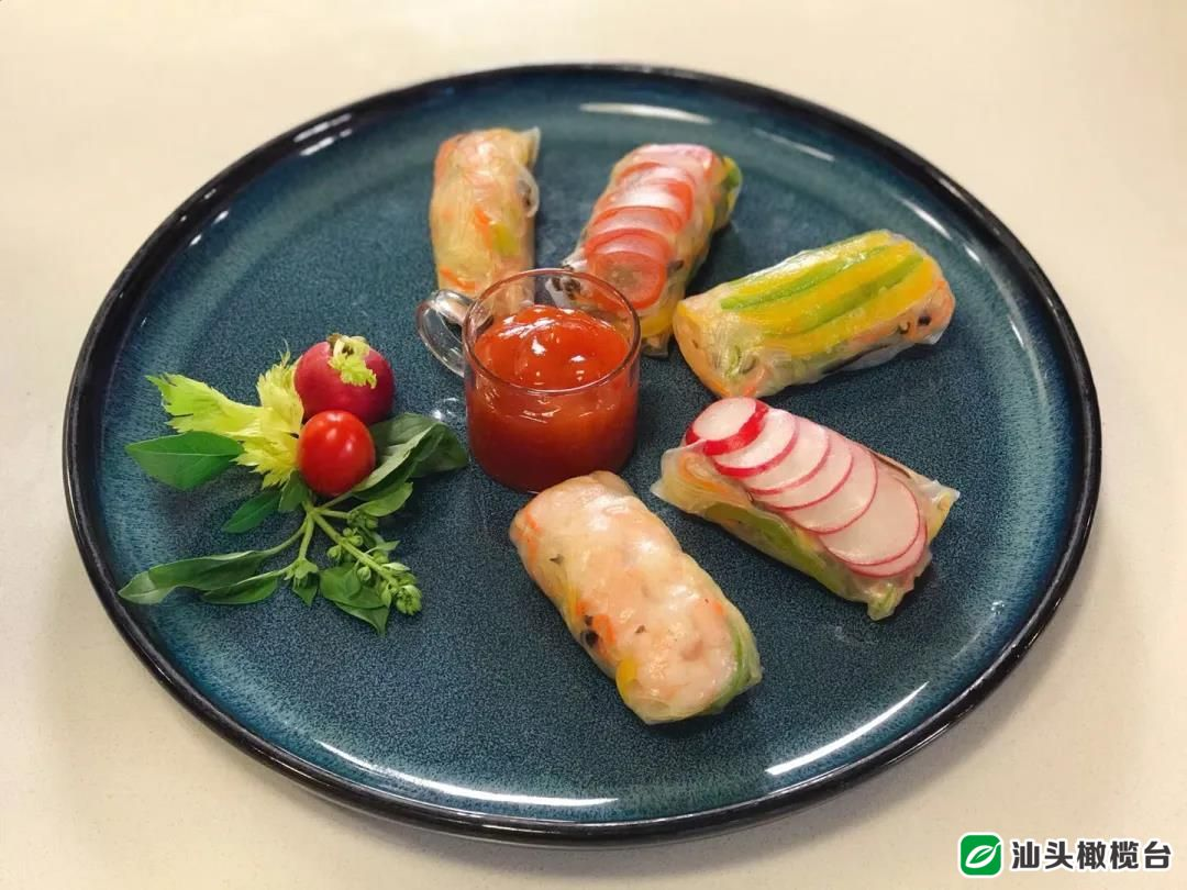 《美食潮》大厨小吃之十一——菜头烙、越南春卷